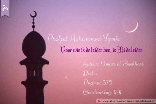 Opvolger van de Profeet (vzmh)