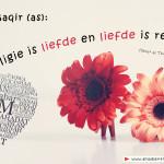 Wat is religie en liefde?