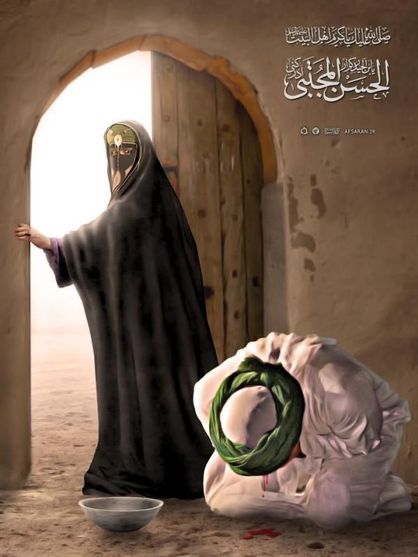 Imam Hasan is vergiftigd