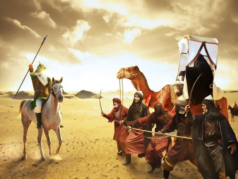 strijd kameel