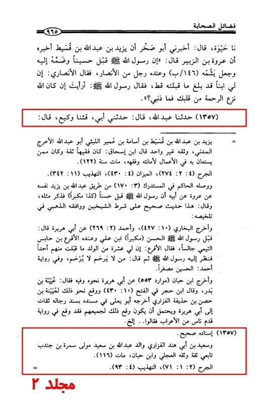 Fazahil Al-SahabaVol